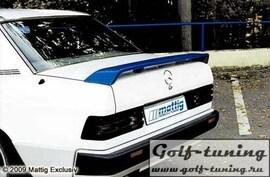Mercedes W201 82-92 Спойлер на крышку багажника