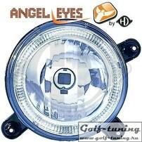 VW Golf 1/Golf 2 Фары внутренние (дальнего света) с ангельскими глазками