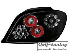 Peugeot 307 01-07 Фонари светодиодные, черные