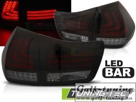 Lexus RX 330/350 03-08 фонари lightbar design красно-тонированные