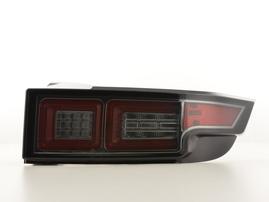 Range Rover Evoque 11- Фонари светодиодные черные