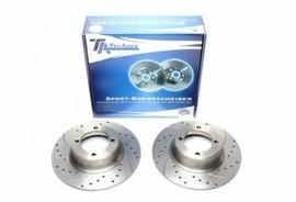 Skoda 105/120/130/Rapid Комплект спортивных тормозных дисков