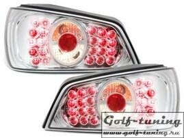 Peugeot 306 92-96 Фонари светодиодные, хром