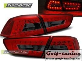 Mitsubishi Lancer 08-11 Седан Фонари светодиодные, красно-тонированные