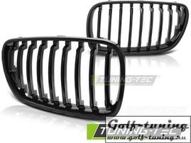 BMW X3 E83 06-10 Решетки радиатора (ноздри) черные, глянец