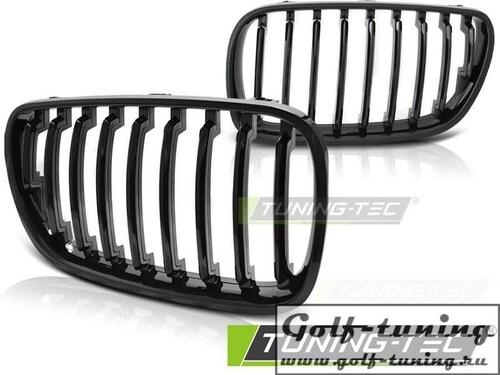 BMW X3 E83 06-10 Решетки радиатора (ноздри) глянцевые
