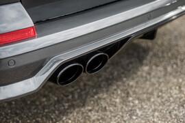 VW T6.1 20- Накладка на задний бампер бампер+ насадки для глушителя