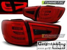 KIA Sportage 10-14 Фонари светодиодные, красно-тонированные Lightbar