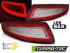 PORSCHE 911 997 04-09 Фонари с бегающим поворотником красно-белые