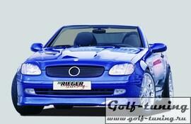 Mercedes R170 96-00 Спойлер переднего бампера