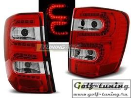 Jeep Grand Cherokee 99-05 Фонари светодиодные, красно-белые