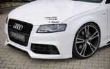 Накладка нижняя для переднего бампера Rieger 00055524/25/26/27 carbon look