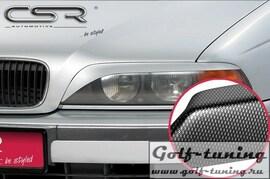 BMW E39 95-04 Реснички на фары carbon look