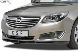 Opel Insignia 13-17 Накладка на передний бампер глянцевая