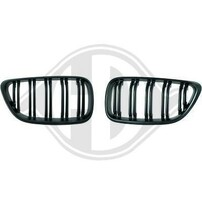 BMW F22/23 14-15 Решетки радиатора (ноздри) в стиле M2