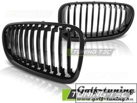 BMW F10/F11 10-13 Решетки радиатора (ноздри) черные, глянцевые