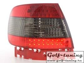 Audi A4 B5 95-00 Седан Фонари светодиодные, красно-тонированные