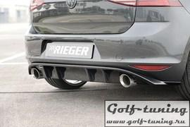 VW Golf 7 GTI Выхлоп Rieger
