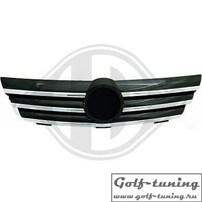 Mercedes C203 Coupe 00-04 Решетка радиатора с хром полосками CL Look