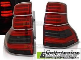 Toyota Land Cruiser 150 09-13 Фонари светодиодные, красно-тонированные