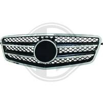 Mercedes W212 09-13 Решетка радиатора с хром полосками CL Look