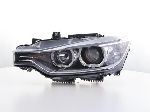 BMW 3er F30/F31 11-15 Фары Angel Eyes черные