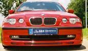 BMW E46 Компакт Накладка на передний бампер jms