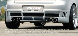 VW Golf 5 Накладка на задний бампер