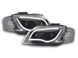 Audi A3 Typ 8P/8PA 03-08 Фары с LED габаритами черные