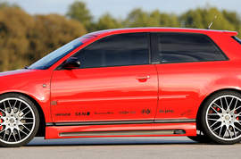 Audi A3 8L 96-03 Накладки на пороги carbon look