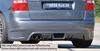 VW Touran 1T 03-06 Накладка на задний бампер Carbon Look