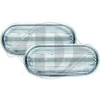 Seat/VW Повторители в крыло lightbar design хром