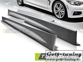 BMW F32 13- Накладки на пороги M-TECH/ PERFORMANCE Look