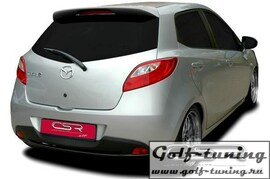 Mazda 2 DE 07-14 Спойлер на крышку багажника X-Line design