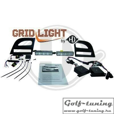 VW Golf 6 Дневные ходовые огни тонированные