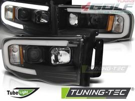 Dodge RAM 02-06 Фары tube light design черные