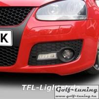 VW Golf 5 GTI Дневные ходовые огни JOM