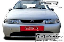 Ford Fiesta MK4 95-99 Ресница Badlook из металла X-Line design