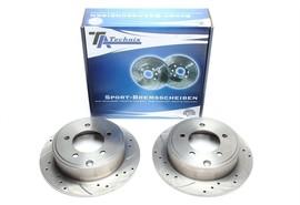 Chrysler Sebering/Jeep Compass/Patriot Комплект спортивных тормозных дисков