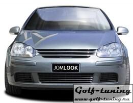 VW Golf 5 Решетка радиатора без значка черная