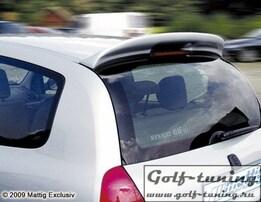Renault Clio 98-05 Спойлер на крышку багажника