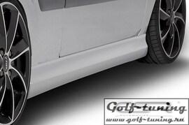 Ford Fiesta 6 05-08 Накладки на пороги