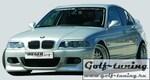 BMW E46 Компакт/седан/универсал Накладки на пороги