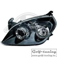 Opel Tigra 04- Фары оригинальные под галоген черные