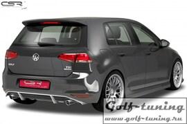 VW Golf 7 12-17 Накладка на задний бампер