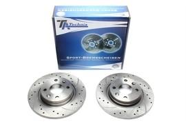 Dacia/Reanult/Smart Fortwo Coupe Комплект спортивных тормозных дисков