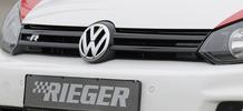 VW Golf 6 Решетка радиатора черная R