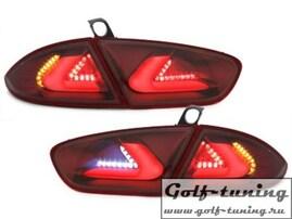 Seat Leon 1P1 09-12 Фонари светодиодные, красные с светодиодным поворотником