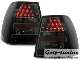 VW Bora Фонари светодиодные, черно-тонированные