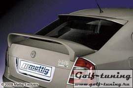 Skoda Octavia 04- Спойлер на крышку багажника